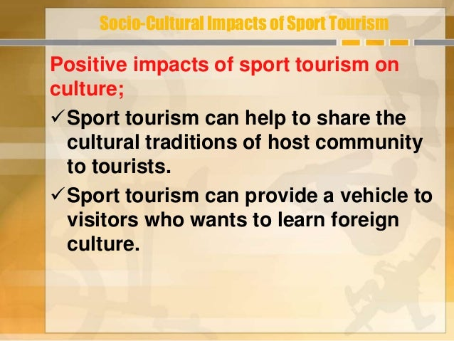 impact of sport tourism in the Charlotte county enjoyed another successful year in regards to sports tourism  during fiscal year 2015-2016, the punta gorda/englewood.