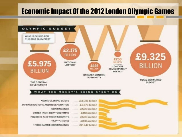 the economic impact of the olympic The uk economy has seen a £99bn boost said attributing the economic benefits to the olympics was a as well as the financial impact of.
