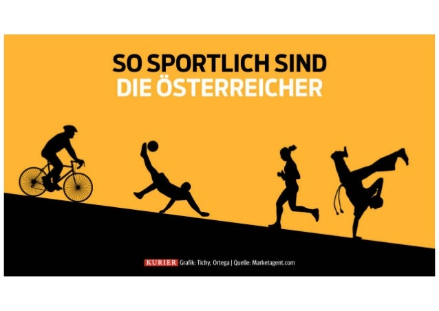 So sportlich sind die Österreicher