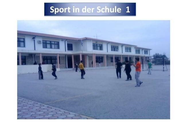 Sport in der Schule 1
