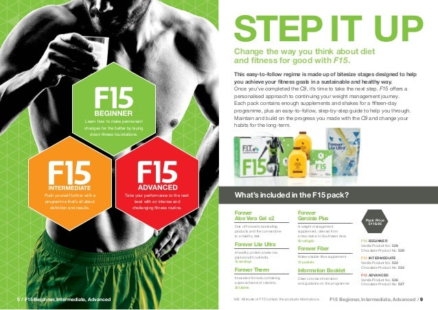 Sport & Weight management brochure- Forever Living products