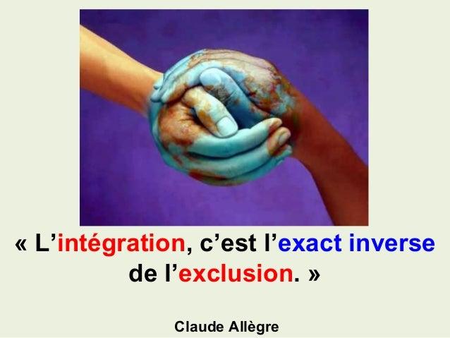 Spot tolleranza e integrazione Slide 3