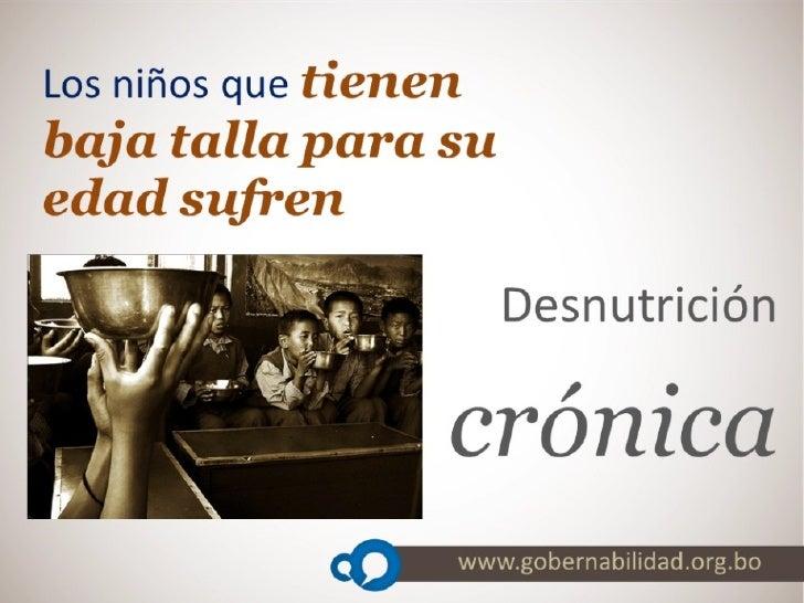 Spot Desnutricion Cronica Slide 2