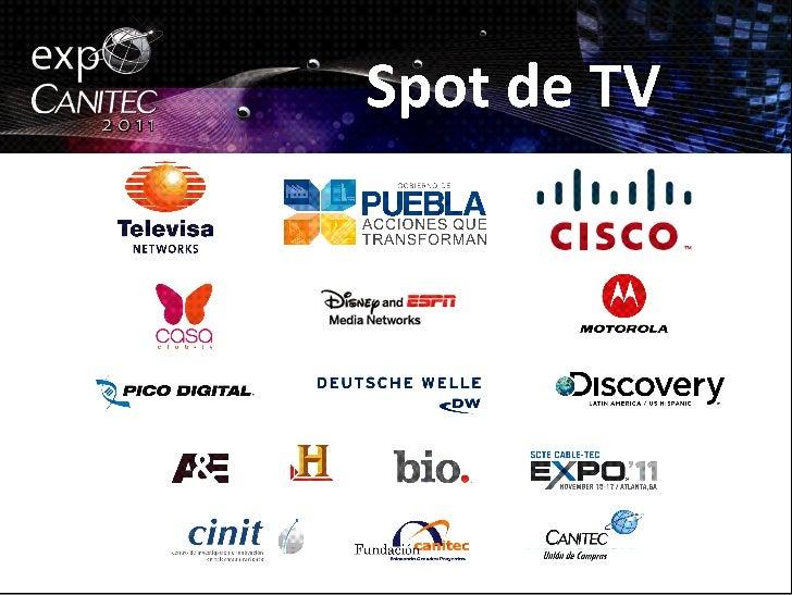 Spot de Televisión de Expo Canitec 2011