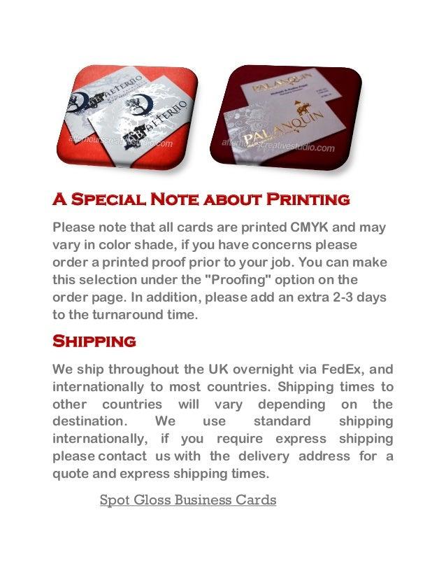 Best quality spot gloss business cards online 3 colourmoves