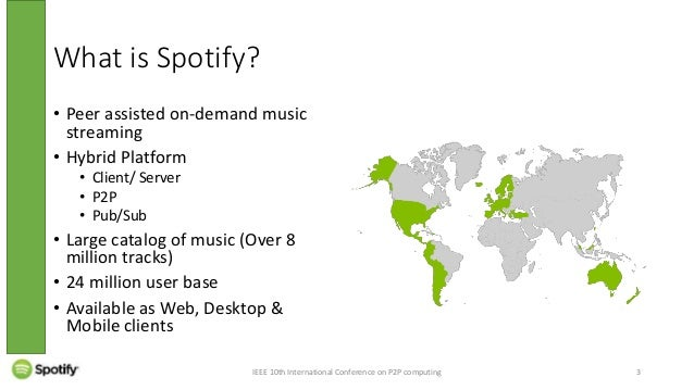 Talk on Spotify: Large Scale, Low Latency, P2P Music-on-Demand Stream…