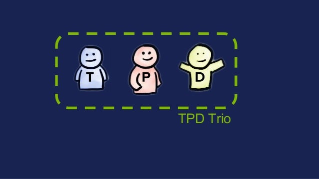 Tactic to reach strategy TAP: Tactic2strategic alignment Tribe & Squad bets Company bet Functional/TPD bet Tribe bet Squad...