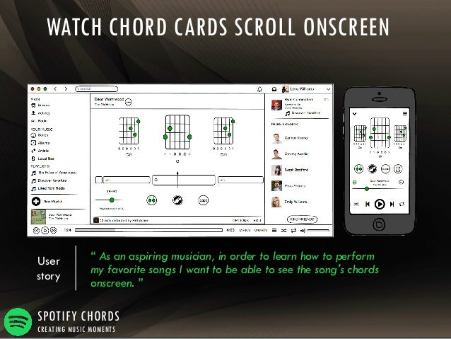 Spotify Chords - Creating Music Moments