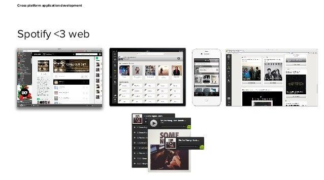Cross platform web app development Slide 3