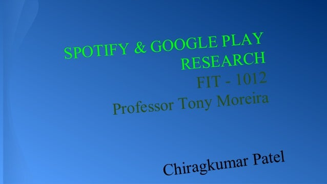 OGLE PLAY OTIFY & GO SP RESEARCH FIT - 1012 ony Moreira Professor T mar Patel Chiragku