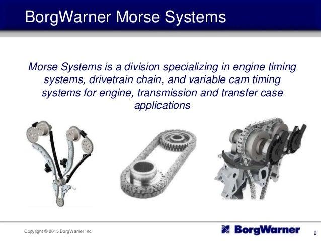 Spotlight Borgwarner Morse Systems