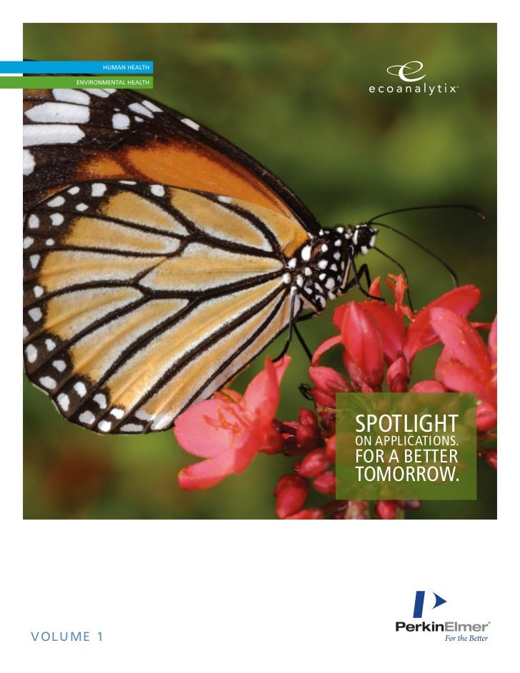 SPOTLIGHT           ON APPLICATIONS.           FOR A BETTER           TOMORROW.VOLUME 1