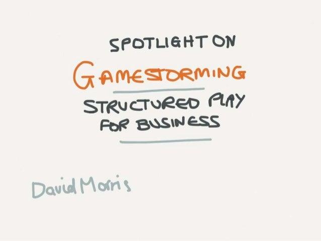 Spotlight on Gamestorming