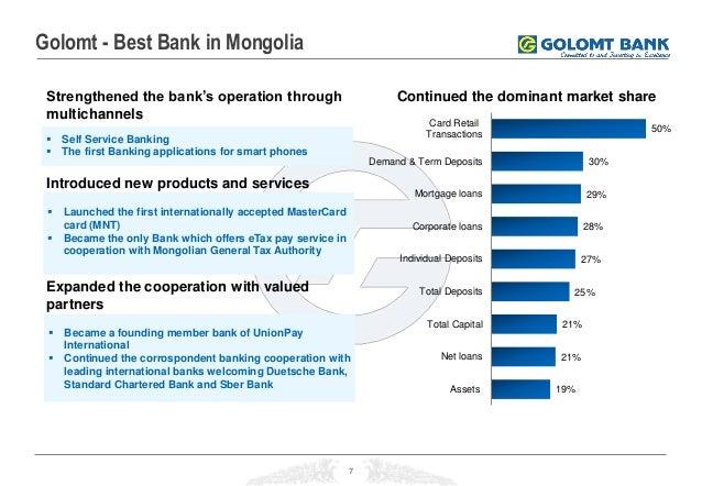 02.05.2014, Investing in Excellence: Golomt Bank, MUNKHBAT Davaatseren
