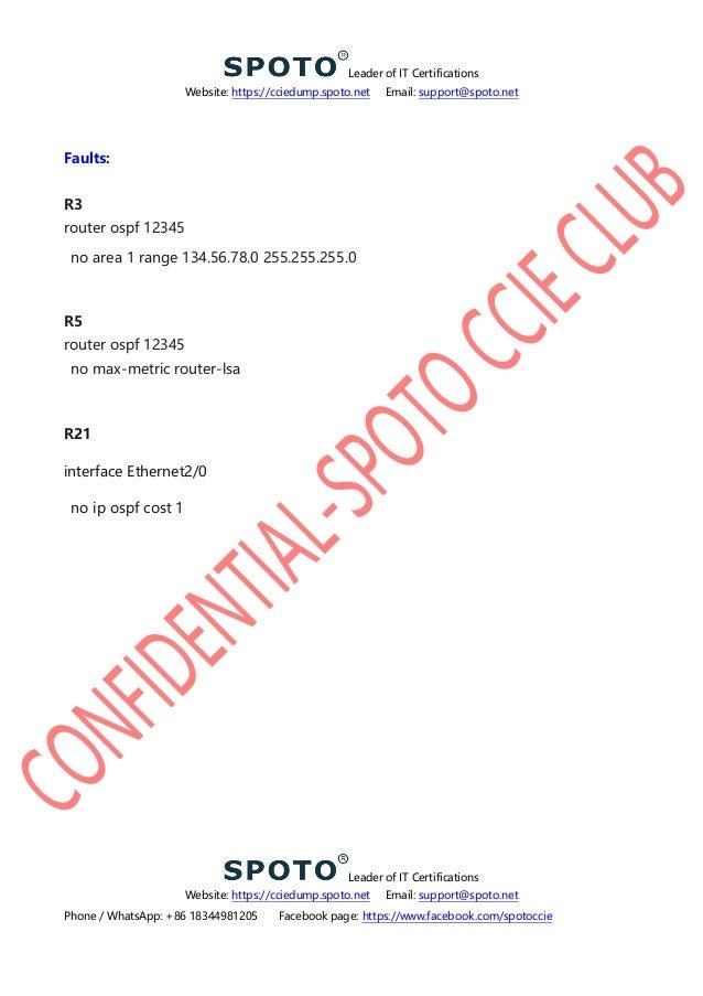 Spoto ccie lab rs v5 0 h1 ts1 bt1 version 1 0 solution