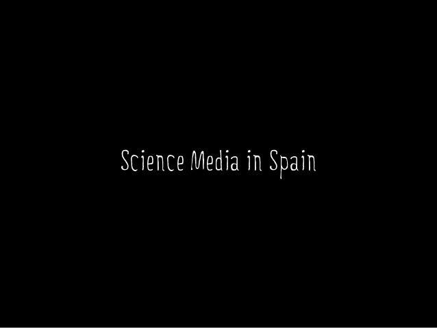 Science Media in Spain