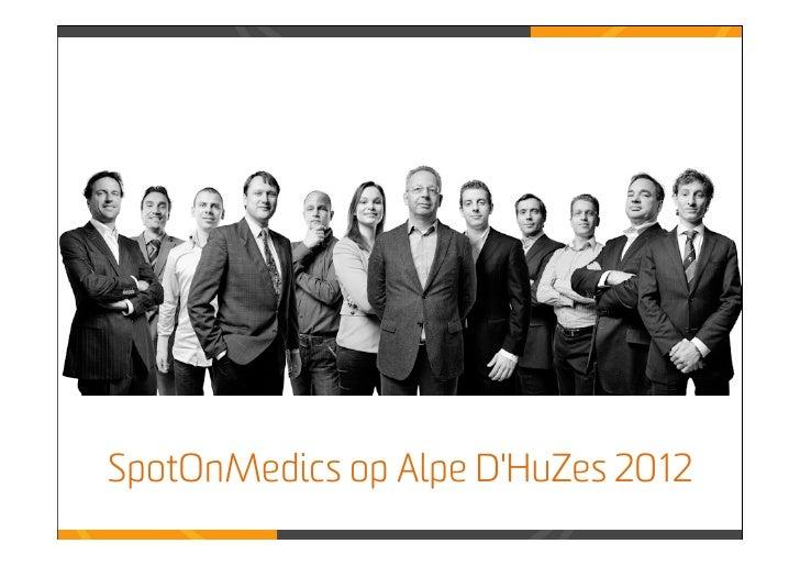 SpotOnMedics op Alpe DHuZes 2012