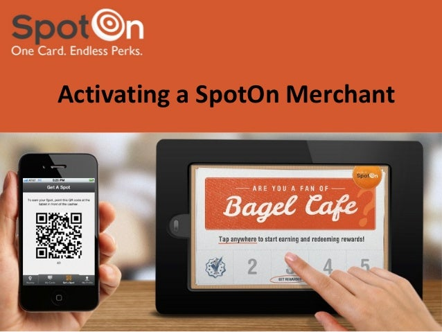 Activating a SpotOn Merchant