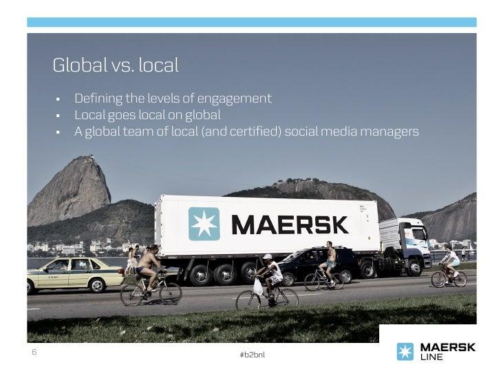 Maersk Line in social media: spotONvision webinar June 2012