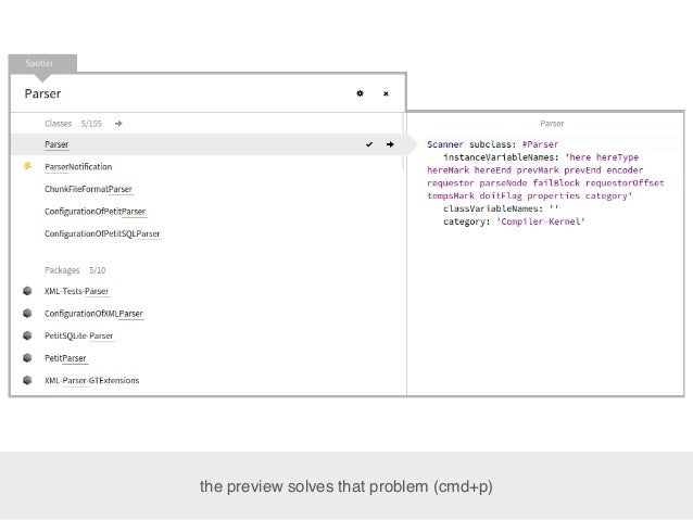 the preview solves that problem (cmd+p)