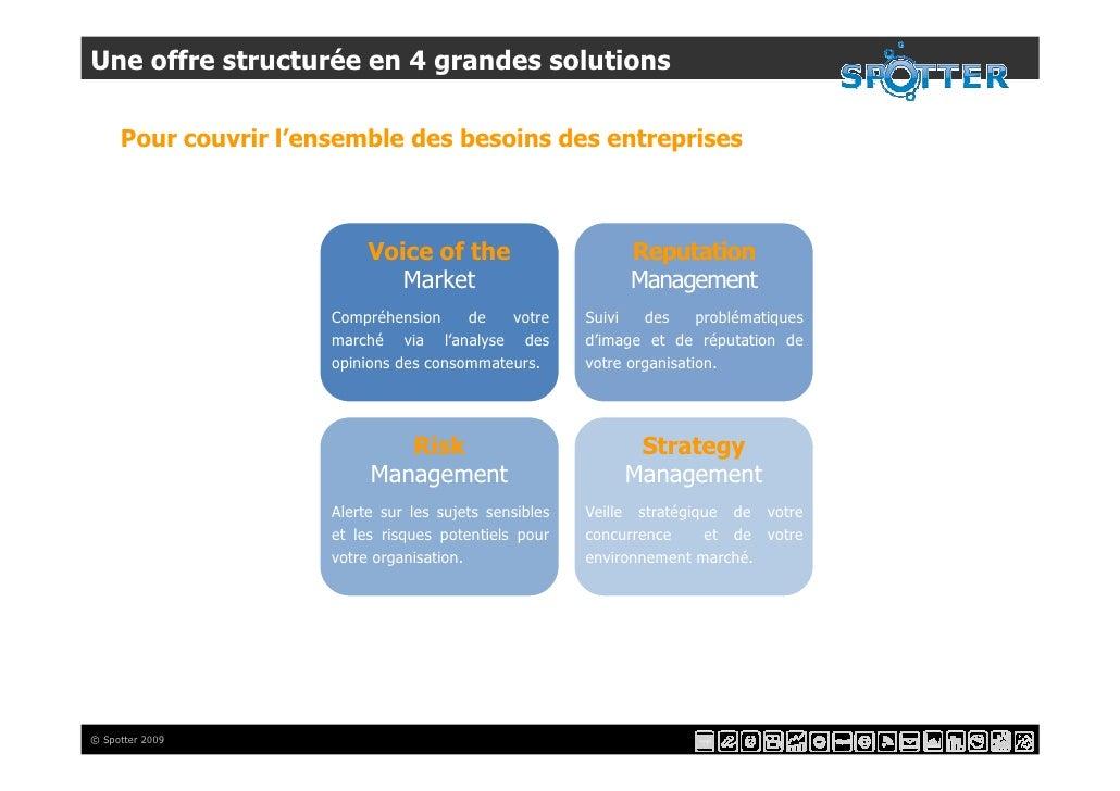 Une offre structurée en 4 grandes solutions       Pour couvrir l'ensemble des besoins des entreprises                     ...