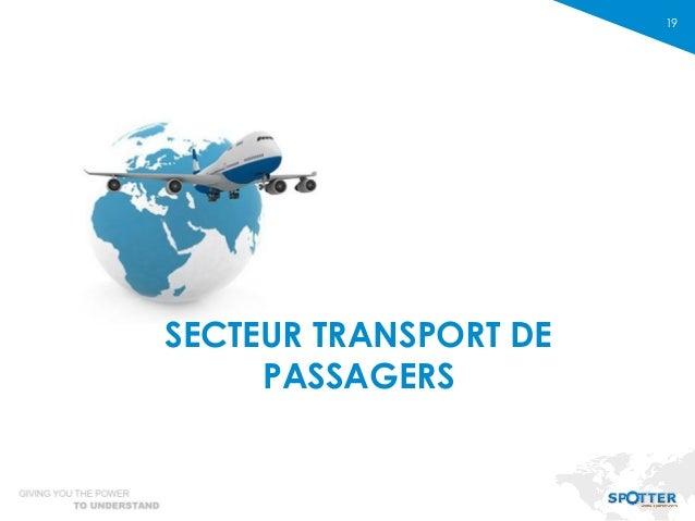 19 SECTEUR TRANSPORT DE PASSAGERS