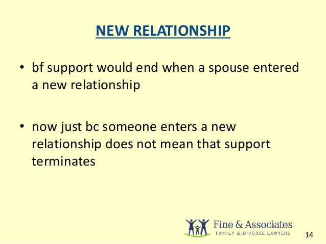 an essay on spousal support laws Spousal support is one of the most disliked areas of the law for spouses this article explains more about the law by providing examples.