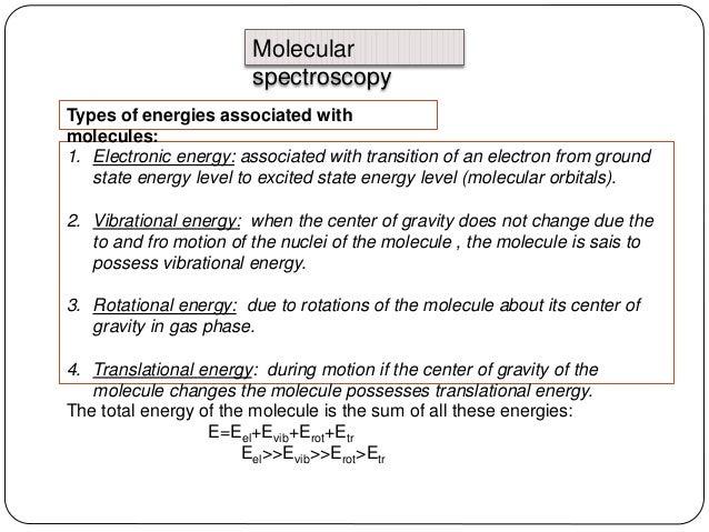 types of spectroscopy