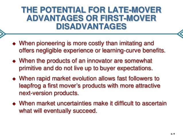 late mover
