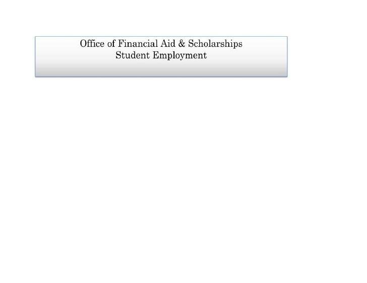 Dillard University Spring 2012 Final Exams and Work Study Students