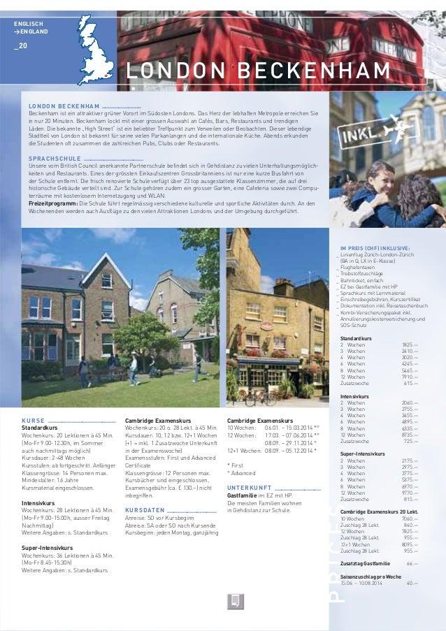 globo-study Sprachreisen - Katalog 2014