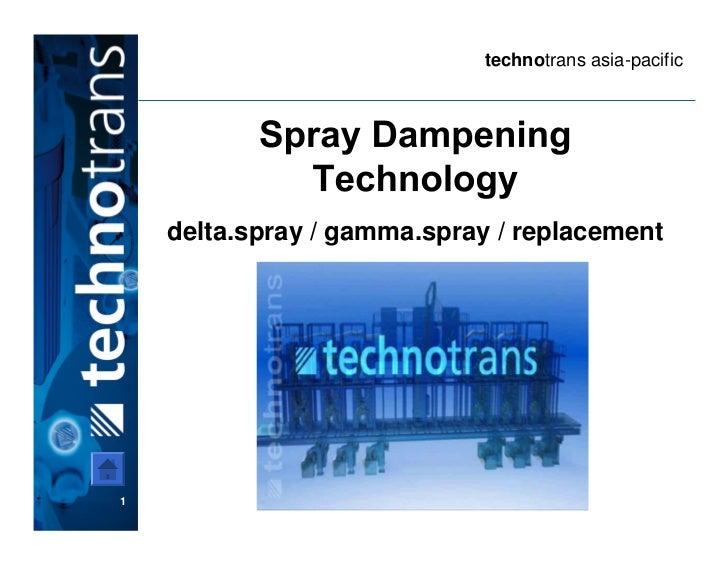 technotrans asia-pacific    delta.spray / gamma.spray / replacement1