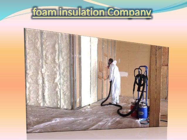 spray foam insulation installation Slide 3