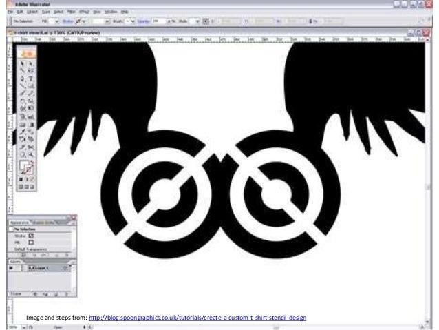T Shirt Stencil Designs | Spray Paint Stencil T Shirt Design