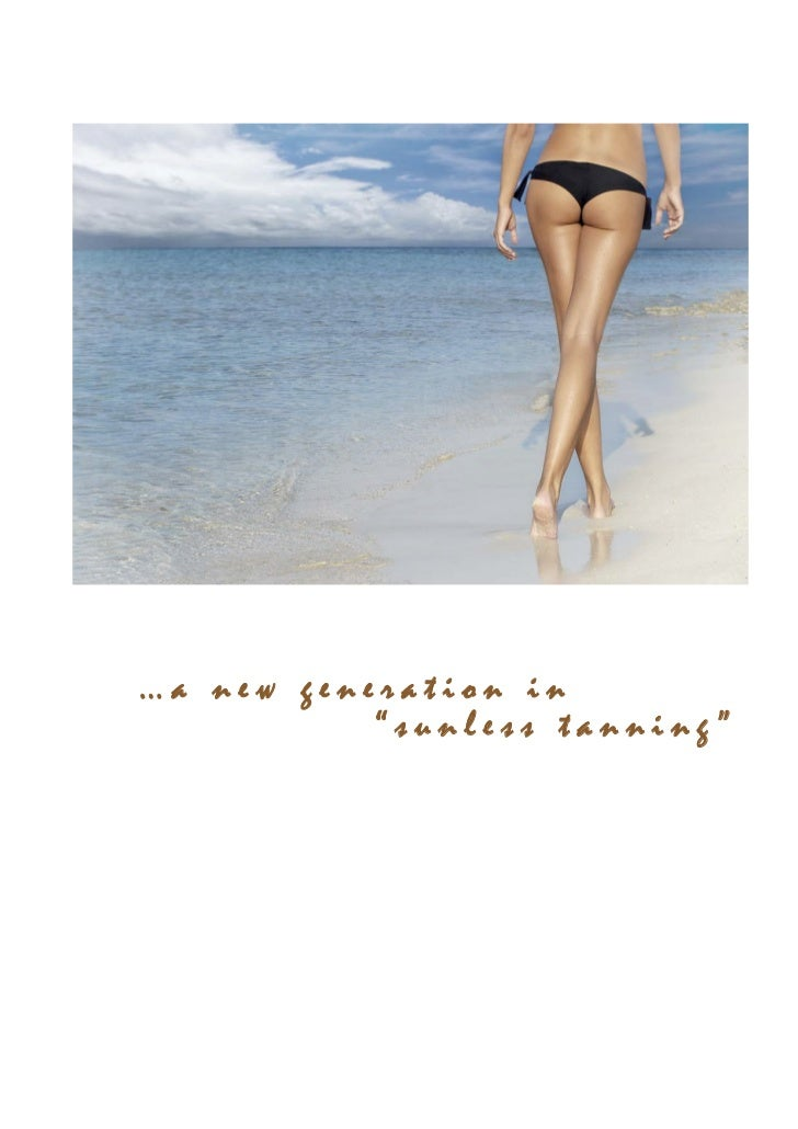 """…a new generation in                """"sunless tanning""""Complete Tanning SOLUTIONS Pty Ltd   """"Spray Tanning Training Manual"""" ..."""