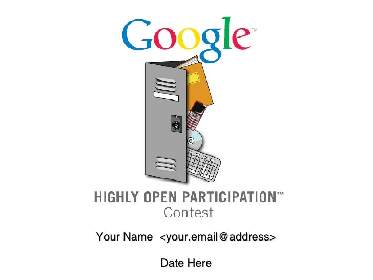 Your Name  <your.email@address> Date Here
