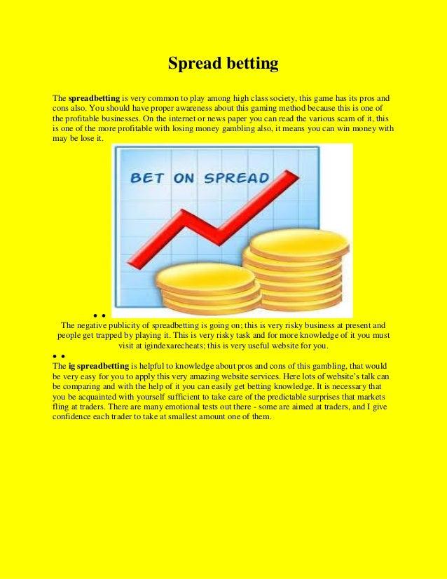 paper spread betting