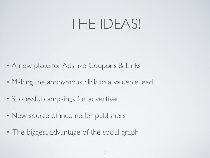 Spreadly - The Social Sharing Ad-Network Slide 2