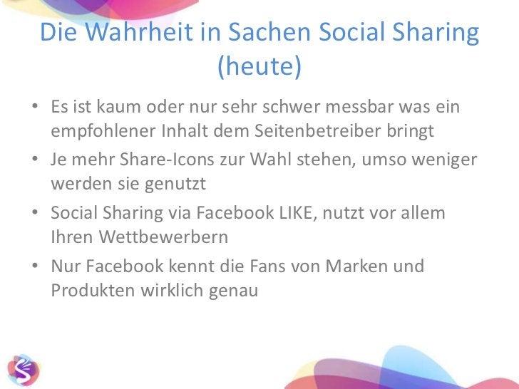 Gründe für Social Sharing<br />Eine gefühlte Chance den eigenen Content einer großen und neuen Nutzeranzahl zu empfehlen<b...