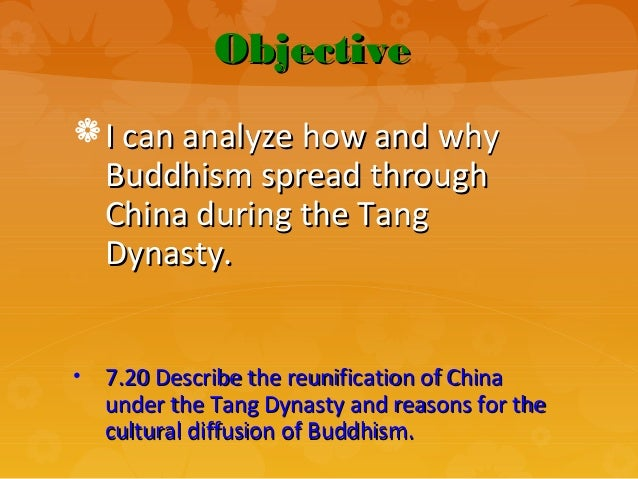 why had buddhism unfold to be able to china