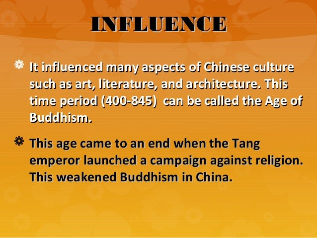 dbq spread of buddhism in han Which spread to china in the time of the latter han it did not exist here in ancient   primary source document, with questions (dbq) on memorial on the.