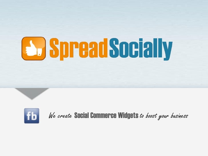We create Social Commerce Widgets to boost your business