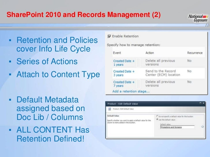 Introducing Records Management in SharePoint 2010