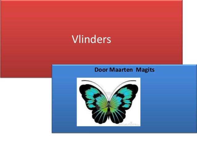 Vlinders Door Maarten Magits