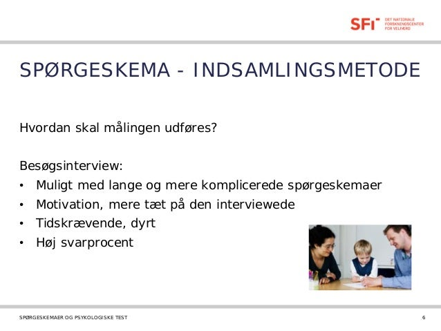 spørgeskema motivation