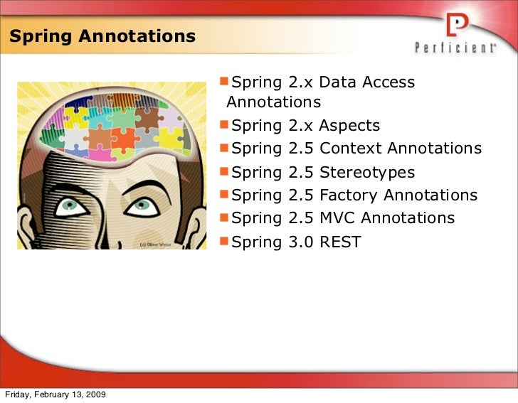 Spring Annotations                              Spring 2.x Data Access                              Annotations          ...