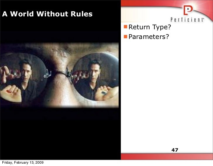 A World Without Rules                             Return Type?                             Parameters?                  ...