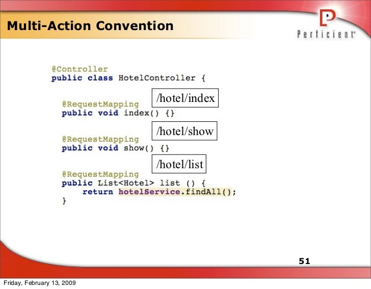 Multi-Action Convention                                 /hotel/index                              /hotel/show             ...
