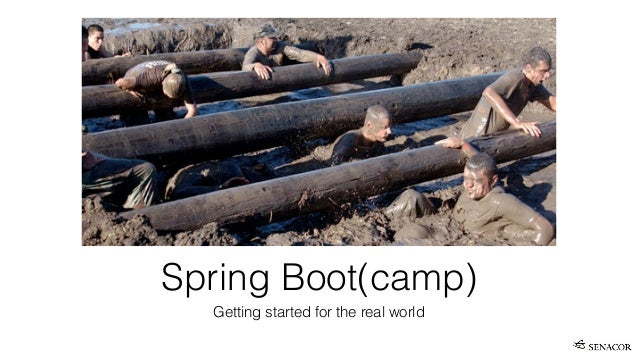 Spring Boot(camp) Getting started for the real world