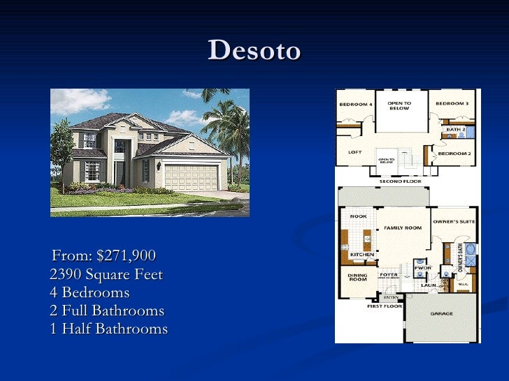 Pulte Homes at Spring Isle – Centex Homes Floor Plans 2007